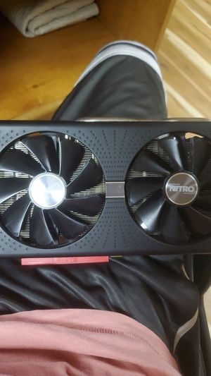 Amd Rx580 sapphire nitro for Sale in Tryon, NC