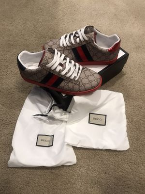 Gucci ace supreme gg SIZE 8 for Sale in San Leandro, CA