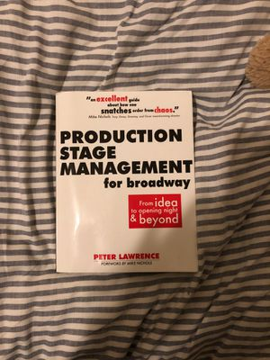 Production Stage Management for broadway. for Sale in New York, NY