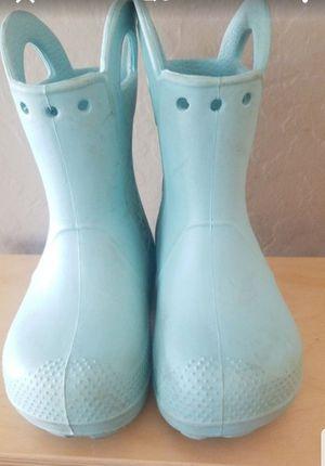 Crocs rain boots for Sale in Elk Grove, CA