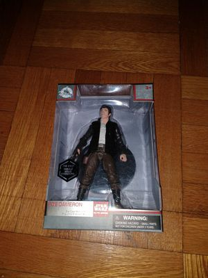 Star Wars Poe Dameron Elite Series Die Cast Action Figure for Sale in New York, NY