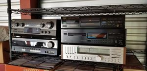 3 Receivers and 2 CD Players for Sale in Philadelphia, PA
