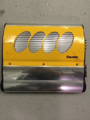 Coustic 2 channel car amp for Sale in Pittsburgh, PA