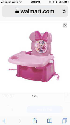 Minnie Mouse booster seat in box for Sale in Clinton Township, MI