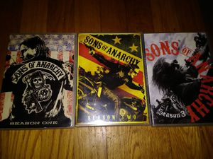 Sons Of Anarchy 1-3 for Sale in Kingsport, TN