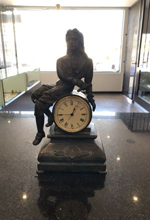 ANTIQUE BRASS CLOCK for Sale in Los Angeles, CA