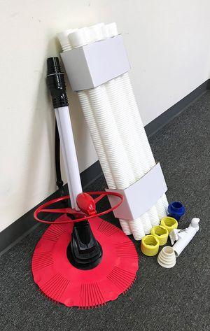 New in box $75 Inground Above Ground Swimming Pool Automatic Cleaner Clean Pool Vacuum Hose Set for Sale in Pico Rivera, CA
