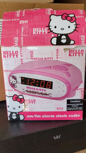 Hello Kitty Clock/AM FM Radio for Sale in Escondido, CA