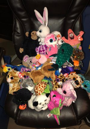 Ty Beanie babies bundle / some rare ones for Sale in Fresno, CA