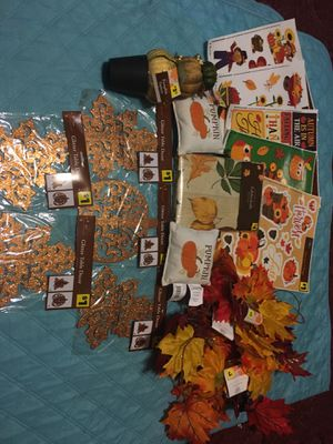 Fall decor for household decorations All included for Sale in Kinston, NC