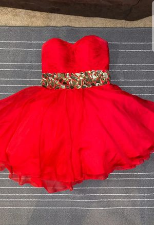 Red Dress Size 4 for Sale in Antioch, IL