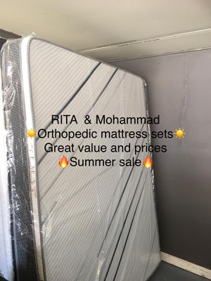 ORTHOPEDIC MATTRESS SETS for Sale in Cicero, IL