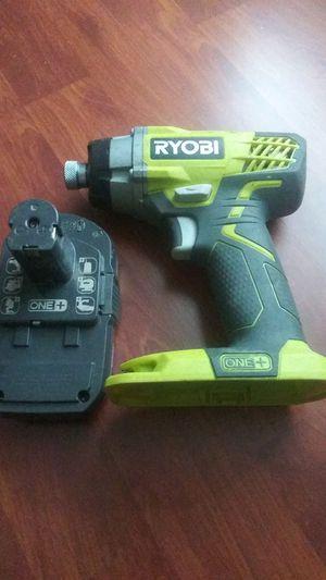 Ryobi 18v impact drill for Sale in Dallas, TX