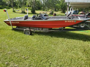1993 Bass tracker tx-17 tournament edition 17' for Sale in Lake Wales, FL