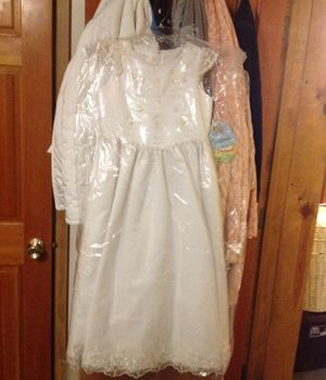 First Communion/Flower Girl dress BRAND NEW size 10 in girls for Sale in Denver, CO