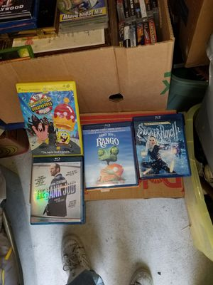 Movies all 4 for 5.00 for Sale in Tacoma, WA