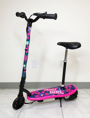 "New $75 Kids Teens Electric Scooter w/ Seat Hand Brake Kick Stand Rechargeable Battery (29x8x35"") for Sale in Santa Fe Springs, CA"