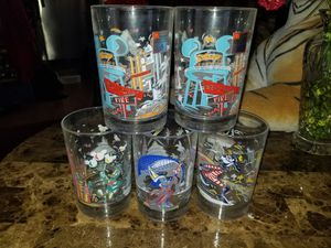 Disney world collectables glass cup for Sale in San Diego, CA