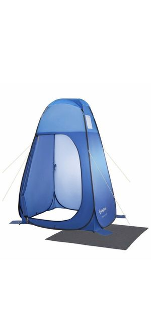 Brand new Pop Up Dressing Changing Tent Shower Room Detachable Floor for Camping Outdoor Beach Toilet Portable with Carry Bag for Sale in Las Vegas, NV