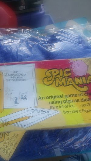 Pig mania vintage 1977 for Sale in Oceano, CA