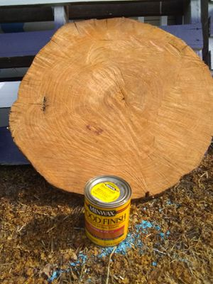 ASH WOOD SLAB- STAINED for Sale in Janesville, WI