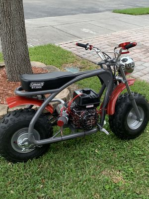 Coleman mini bike with 212cc MAKE OFFER for Sale in Princeton, FL