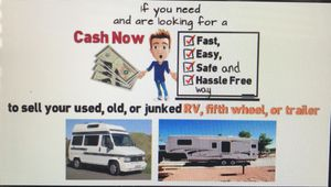Cash for RVs pop up campers travel trailers for Sale in Plano, TX