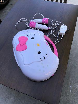 Hello Kitty DVD Karaoke player for Sale in Carlsbad, CA