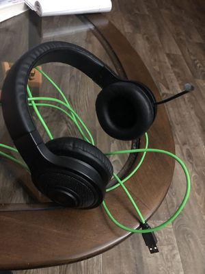 Razer Kraken usb gaming headset for Sale in San Antonio, TX