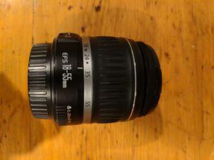 Canon EFS 18-55 mm lens for Sale in Houston, TX