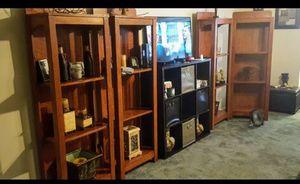Solid oak shelves - 4 total for Sale in Little Rock, AR