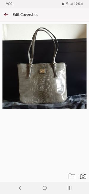 Anne Klein Croco Tote Bag for Sale in Fountain Valley, CA