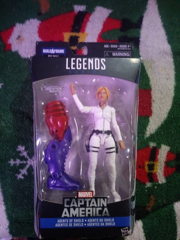 Marvel Legends series Captain America Agents of Shield build a figure Red Skull Sharon Carter