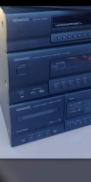 Kenwood stereo/receiver for Sale in Stockton, CA