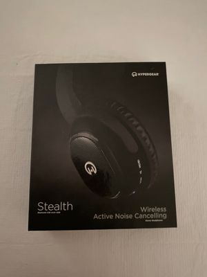 Hypergear Stealth wireless active noise cancelling headphones for Sale in Palm Harbor, FL