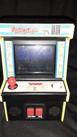 frogger mini arcade game for Sale in Bakersfield, CA