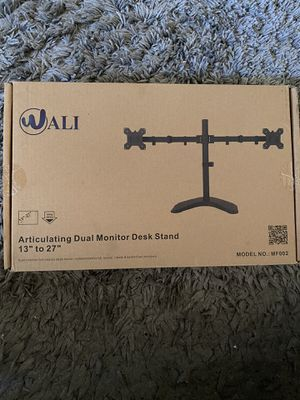 "2 dual monitor desk stand 13"" to 27"" for Sale in Margate, FL"