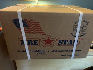 Meals Ready to Eat (MRE) - Unopened Box for Sale in Arlington, VA