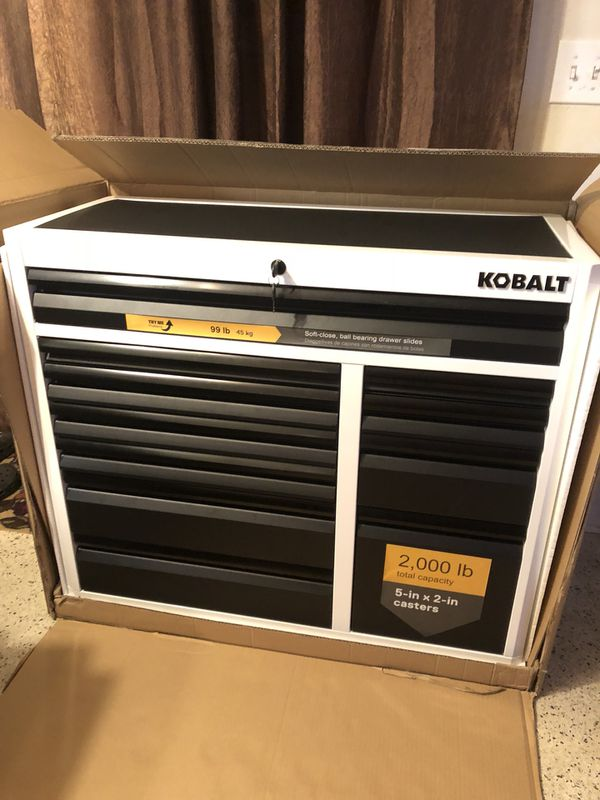 Kobalt Tool Cabinet >> Brand New Tool Box 41 Kobalt Tool Cabinet 3000 Series Tool Chest For Sale In Oakland Park Fl Offerup
