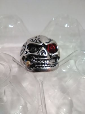 Red Eye Skull Ring Size 12 for Sale in Columbus, OH