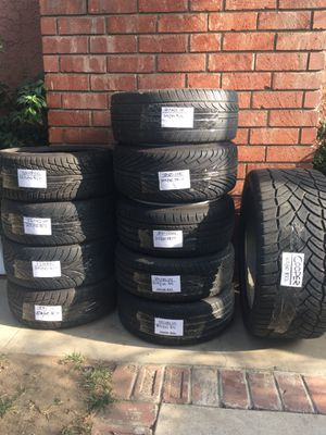 tire Bundle All Must Go! for Sale in Lynwood, CA