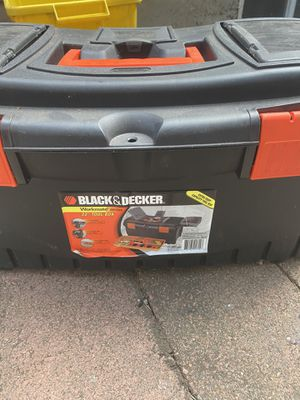 Black & decker tool box for Sale in Portland, OR