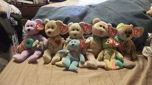 TY Beanie Babie Bears for Sale in Milton, WA