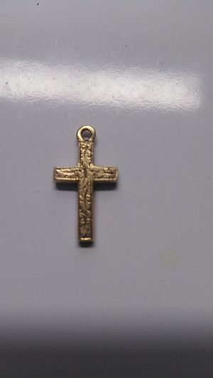 Vintage Cross Charm for Sale in Greensburg, PA