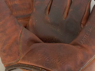 1950's Mickey Mantle Franklin F125 Vintage Baseball Glove for Sale in Beaverton,  OR