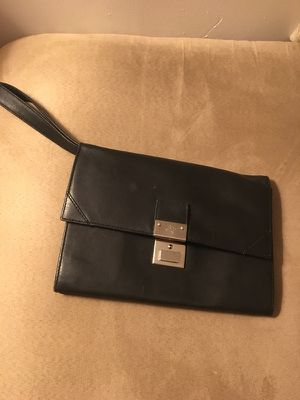 Pegasus club black leather wristlet wallet for Sale in Brooklyn, NY
