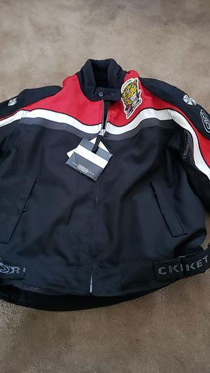 Men's Joe Rocket Padded Motorcycle Jacket- New Tahs still on! MENS M for Sale in Trenton, NJ