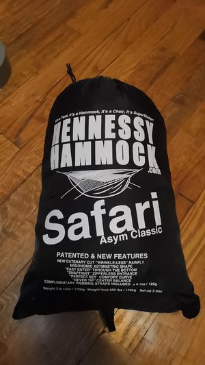 Hennessy Hammock Safari Asym Classic for Sale in Rockville, MD