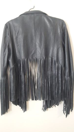 Topshop Kate Moss fringe jacket for Sale in North Chesterfield, VA