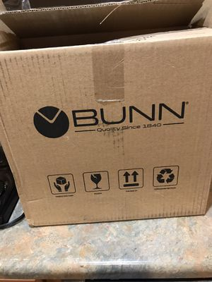 Bunn BXB 10 cup black and stainless steel coffee brewer maker. $110 retail. Brand new for Sale in Fountain Hills, AZ
